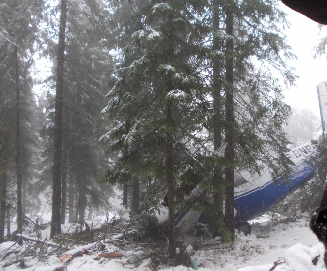 Accident aviatic Apuseni