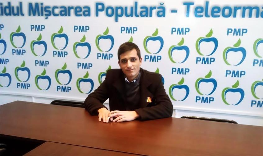 Ervin Zelch, Secretarul General al PMP Teleorman, poate cel mai tanar politician din judet, a acordat un interviu in exclusivitate pentru ExplozivNews24.