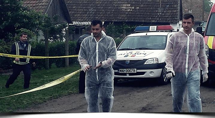 Crimă macabră la Satu Mare   Și-a răstignit mama după care i-a pus icoana pe piept