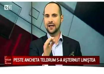 """Silviu Mănăstire, cunoscutul jurnalist care realizează emisiunea """"Dosar de politician"""""""