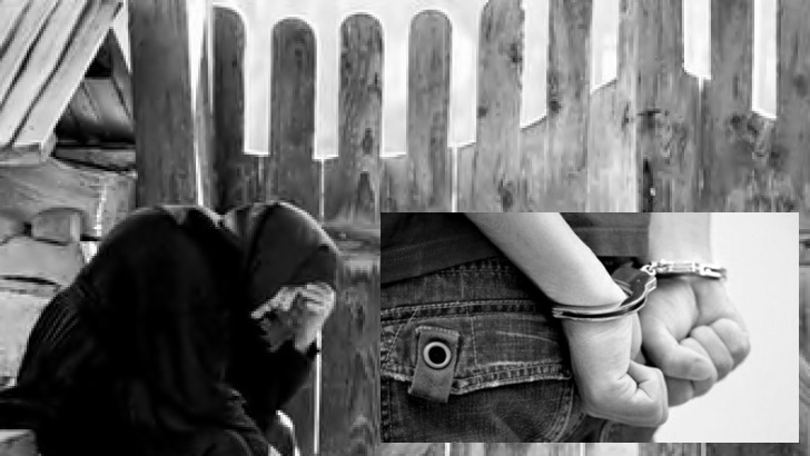 Bătrână din Seaca, batjocorită de un tânăr de 26 de ani. Autorul a fost reţinut pentru 24 de ore