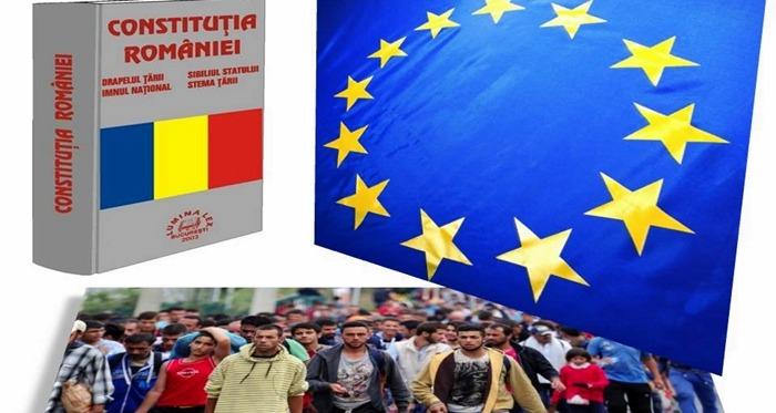 Uniunea Europeană se șterge la fund cu Constituția României și ne obligă să primim 7000 de refugiați