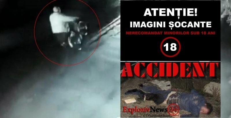 ACESTE IMAGINI TE VOR ŞOCA !!! Accident mortal suprins de camerele de supraveghere!