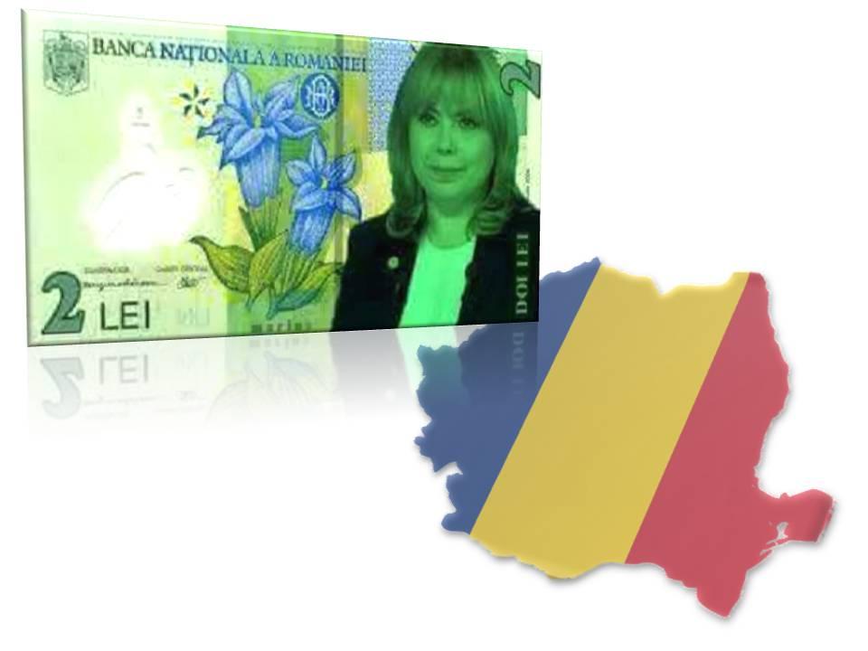 A apărut bancnota de doi lei cu ministrul Anca Dragu care a jignit românii