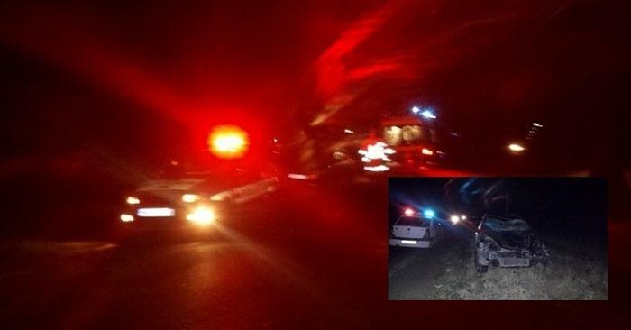 Accident rutier pe DN 51, provocat de un cal lasat nesupravegheat
