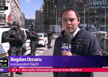 Mascații, mobilizați pe străzi să patruleze cu armele la vedere