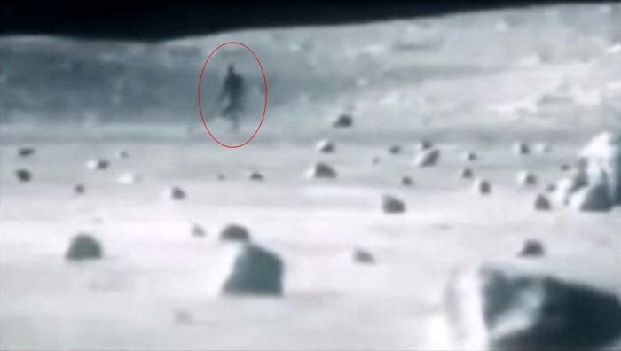 Un extraterestru filmat pe Lună. Imaginile NASA au scăpat de internet