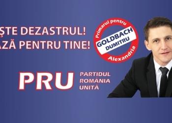 DUMITRU GOLDBACH PRIMARUL TAU OPREŞTE DEZASTRUL!