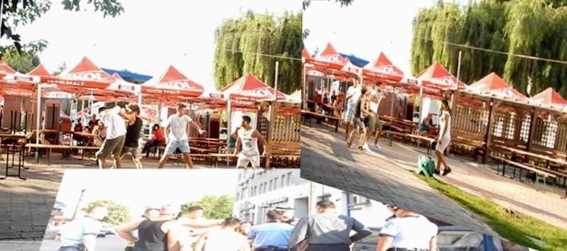 Spectacol cu pumni și picioare de Zilele municipiului Alexandria   VIDEO