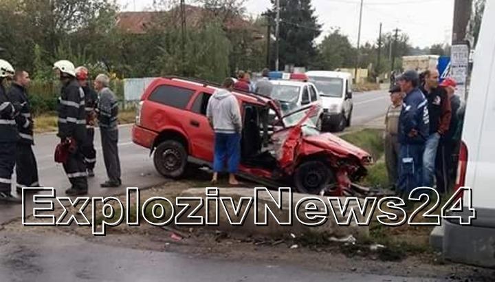 Bebeluș de trei săptămâni, rănit grav într-un accident produs în comuna Gratia