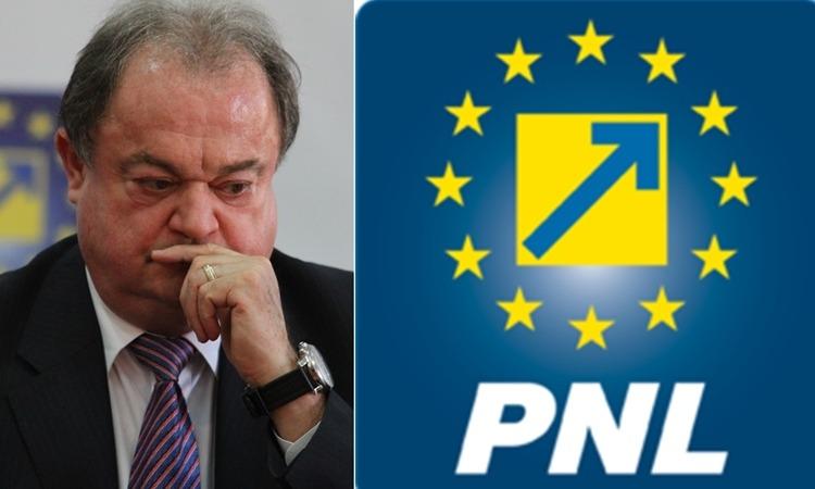 Vasile Blaga a demisionat de la Șefia PNL după ce a fost pus sub control judiciar de DNA