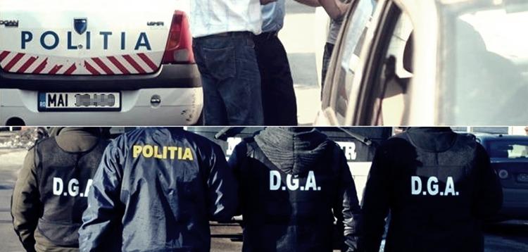 Șofer prins în flagrant la Alexandria de DGA pe când dădea șpagă unui polițist pentru ca să nu îi rețină permisul de conducere