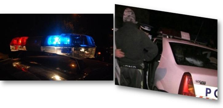 Urmărire ca-n filme, în Teleorman. Șoferul a fost încătușat după ce a încercat să scape de polițiști