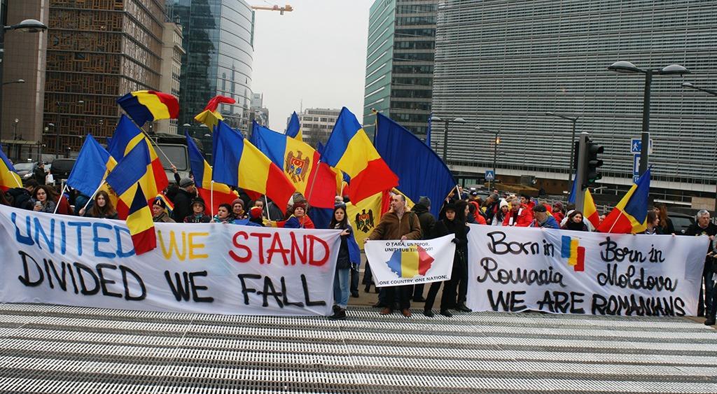 Miting Unire Bruxelles