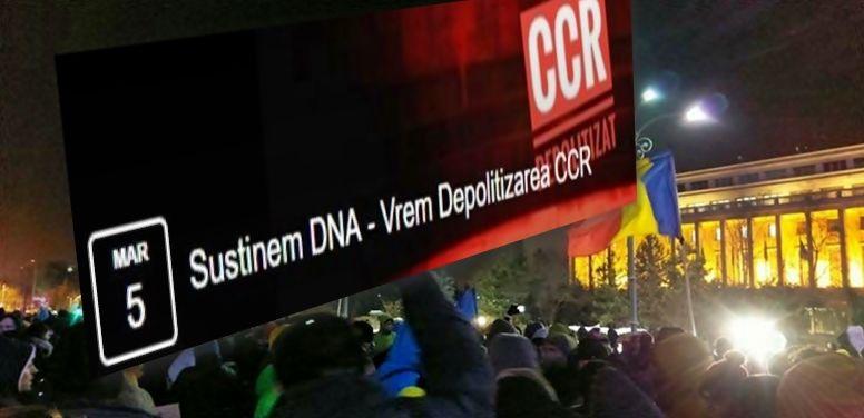 Protest de AMPLOARE anunțat duminică, pentru SUSȚINEREA DNA!