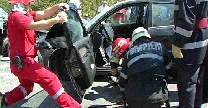 Accident soldat cu doua victime în Mavrodin