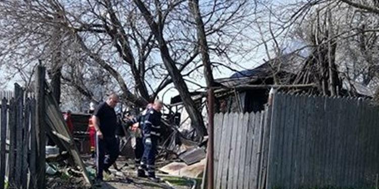 Incendiu în Ciolănesti. O bătrână de  90 ani a murit.