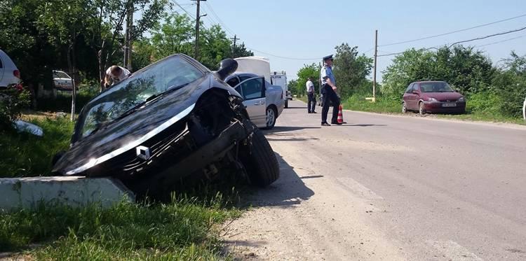 Tatăl fostului Prefect Liviu Dumitrascu, implicat într-un accident rutier