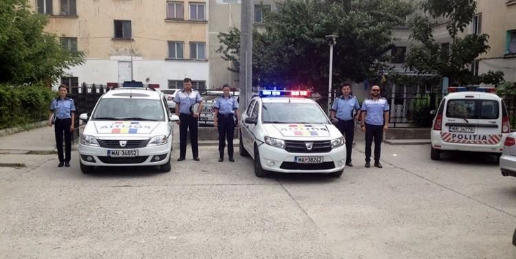 Polițiștii teleormăneni, moment de reculegere în memoria colegului lor din Suceava, ucis joi, 20 iulie