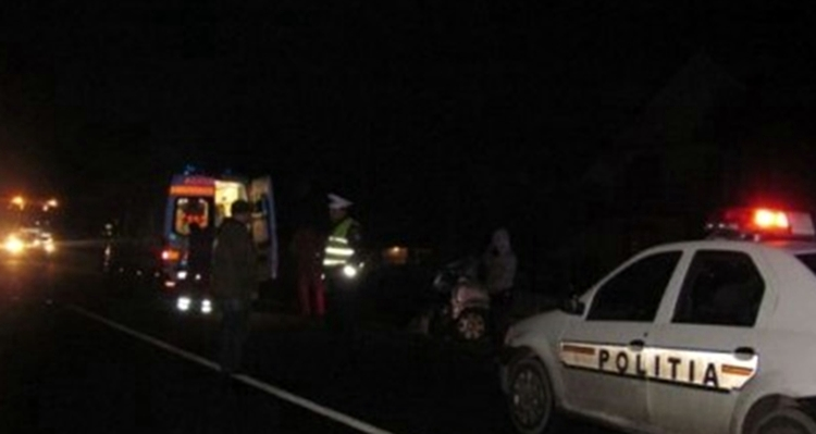Accident grav la Turnu Magurele. 5 tineri au ajuns la spital
