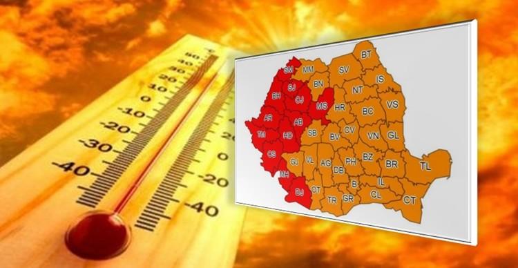 Meteorologii avertizează! Cod portocaliu de caniculă în Teleorman