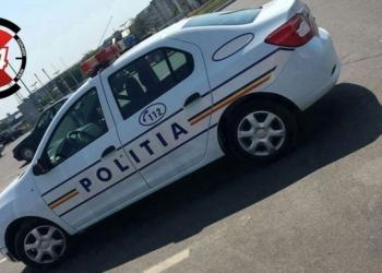 Cum parchează polițiștii din Alexandria