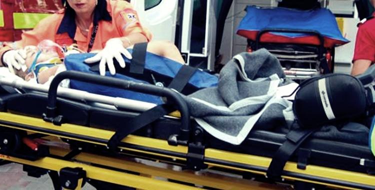 Copil rănit grav într-un accident, din cauza unui câine