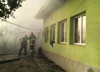 Incendiu de amploare în localitatea Măldăeni