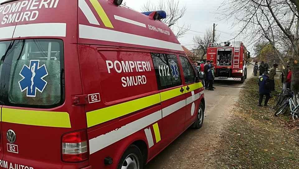 Moarte cumplită în comuna Măgura. Un bărbat de 58 de ani a ars de viu