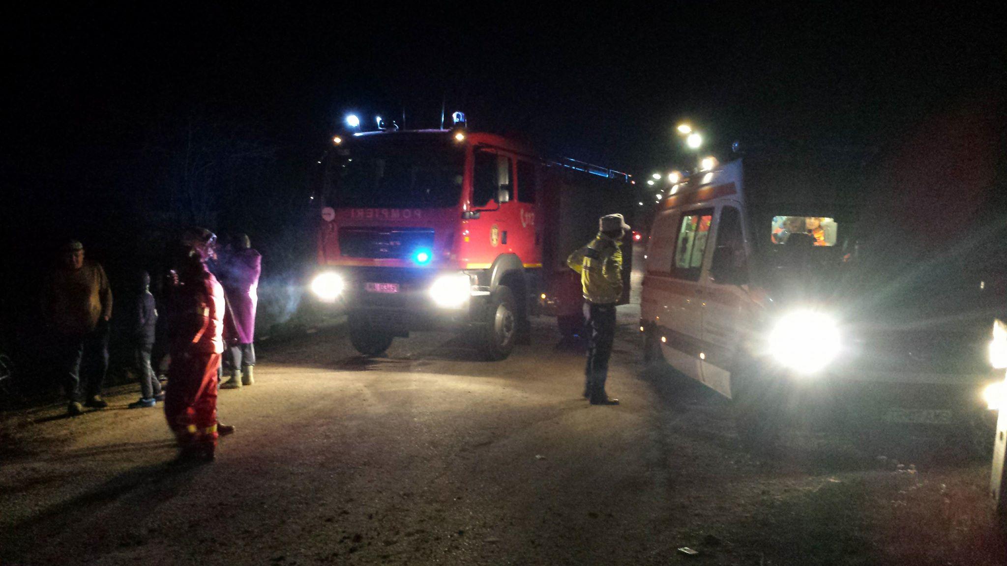 Accident feroviar la Ţigăneşti. Masina a dispărut ca… prin minune! (VIDEO)