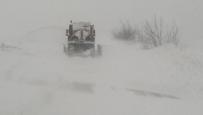 Situația drumurilor blocate în județul Teleorman
