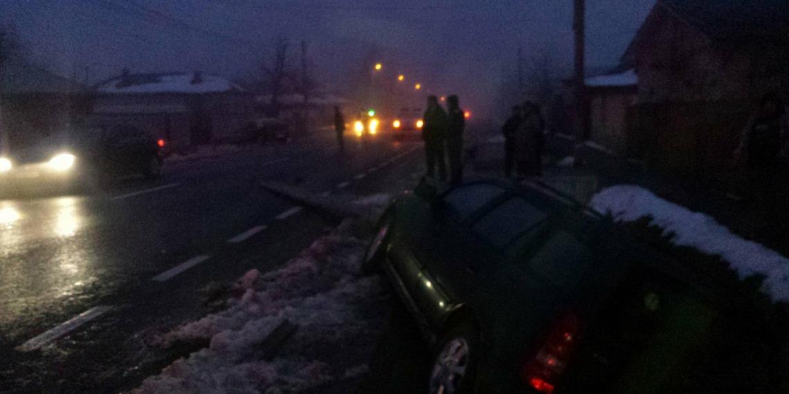 Accident grav in comuna Nanov