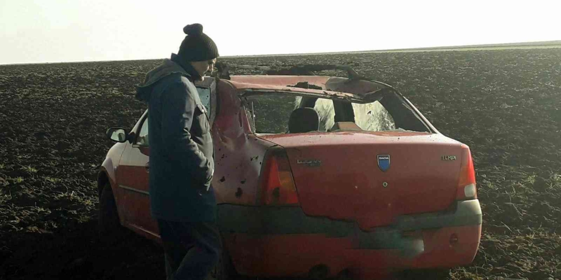 Accident rutier între Copăceanca și Călinesti.