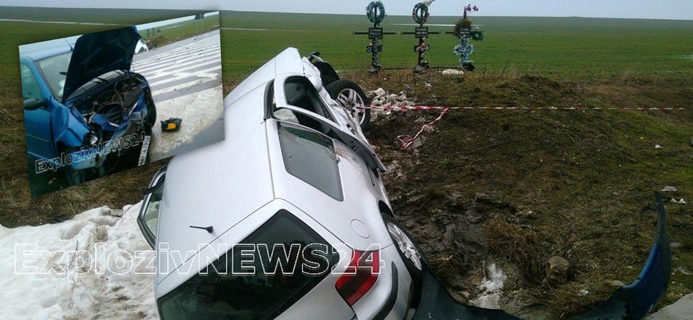 Accident rutier GRAV. Cinci persoane au ajuns la spital
