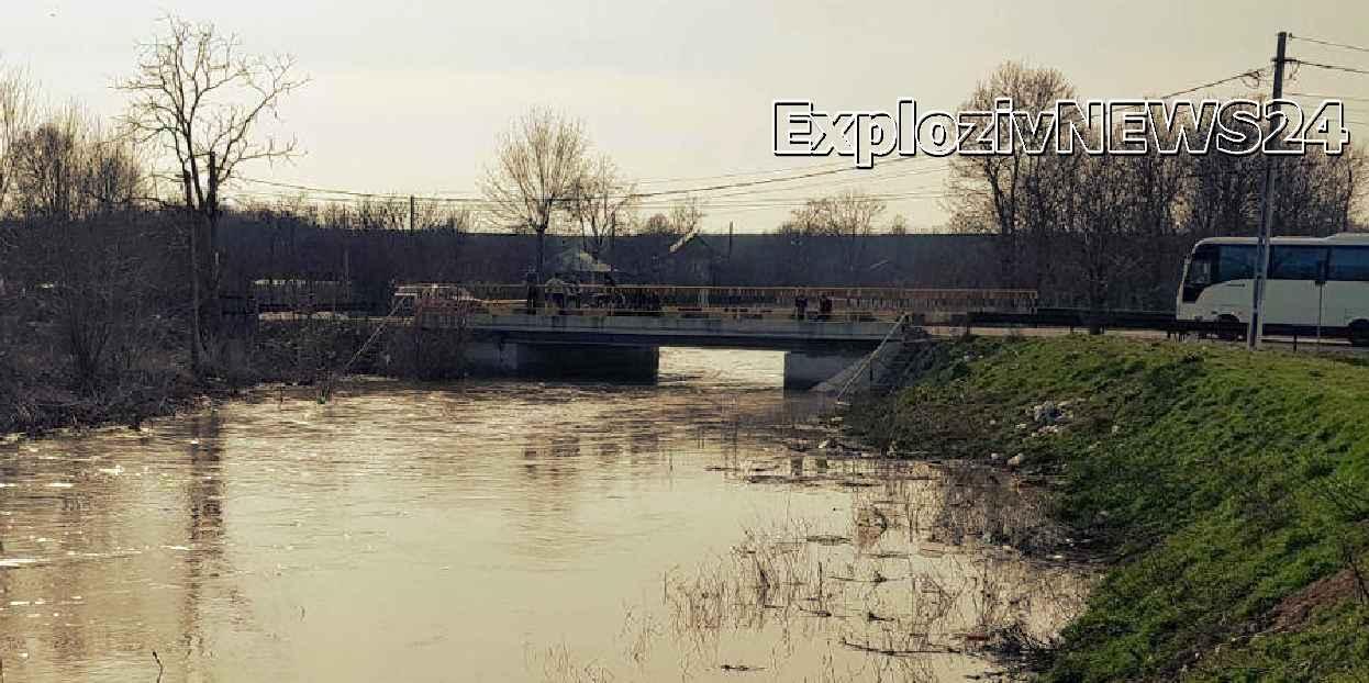 Alertă la Ciolănești, după ce o femeie a dispărut în apele pârâului Câinelui