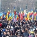 Manifestații de amploare la Chișinău pentru Unirea cu România