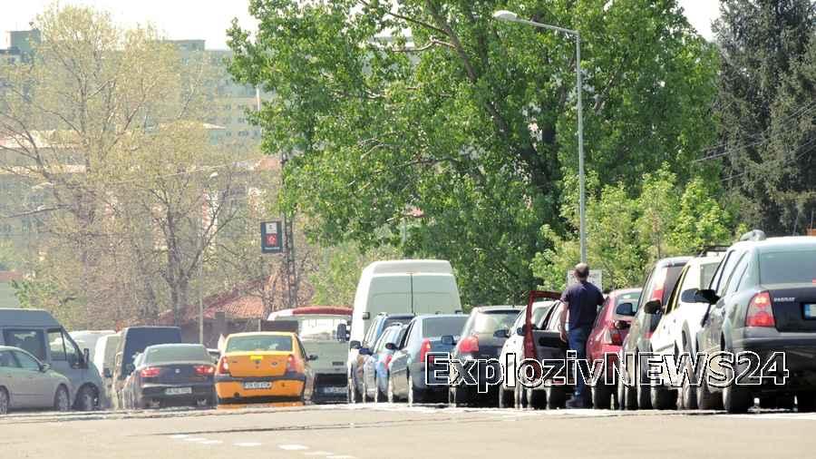 ATENȚIE șoferi! Folosiți rute ocolitoare pentru a evita aglomerația de la podul de peste râul Vedea
