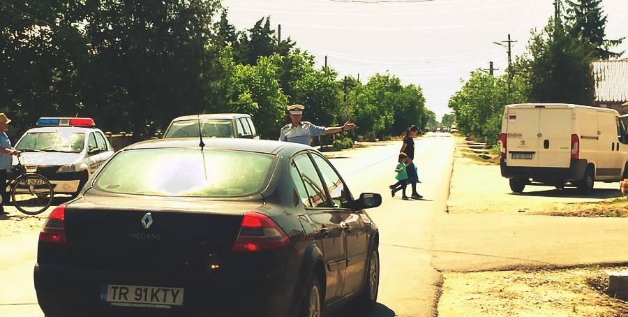 Drum National inchis intr-un sat din Teleorman, pentru ca ar fi murit sotia primarului