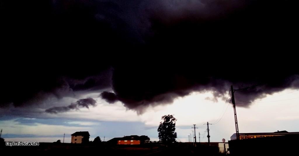 Cod galben de furtuni în Teleorman
