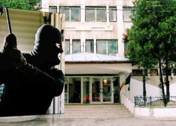 Magazin din Alexandria spart sub nasul politistilor