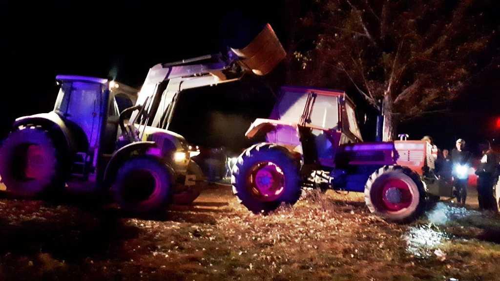 Accident în afara localităţii Didești