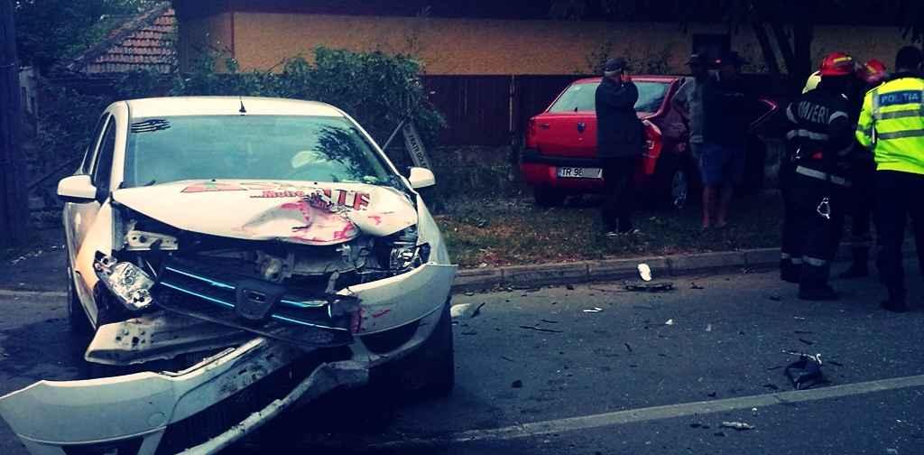 Accident GRAV în Alexandria. O persoană a ajuns la spital