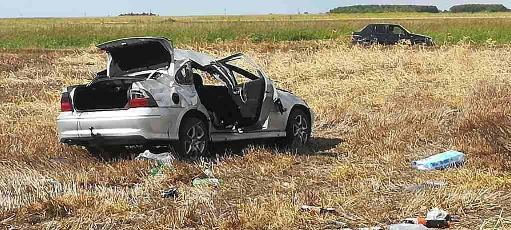 Accident rutier pe DN 51, cu 2 victime