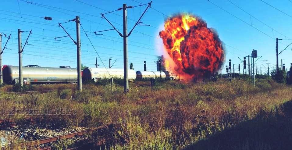 VIDEO | Pericol de explozie in gara Videle, in aceasta dimineata. Traficul feroviar, reluat partial