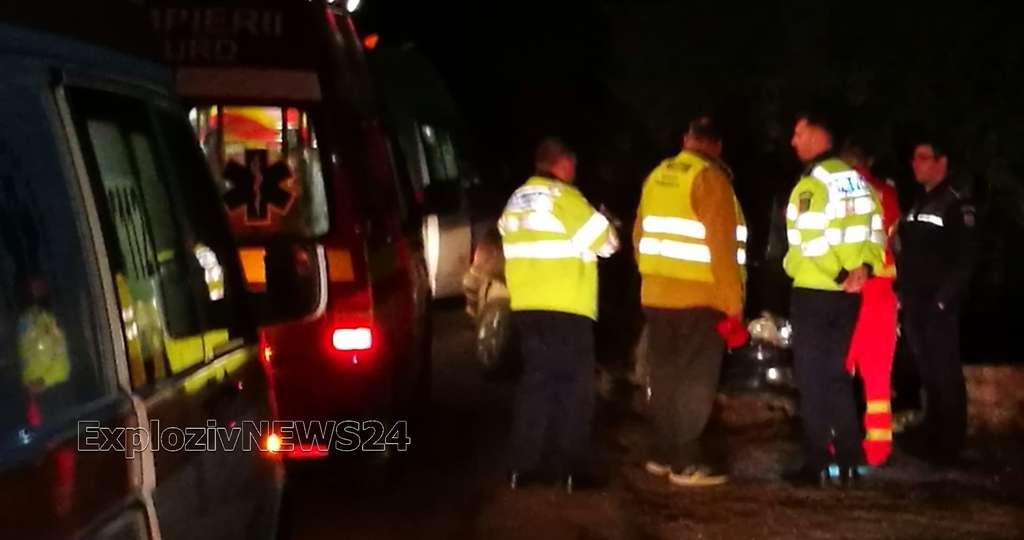 VIDEO | Grav accident rutier la Copaceanca. Șase persoane au ajuns la Spital