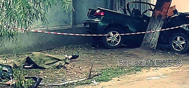 Accident mortal! Doi tineri şi-au pierdut viaţa într-un grav accident la Lita