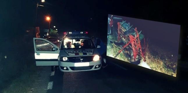 Două căruțe au fost implicate în accidente rutiere