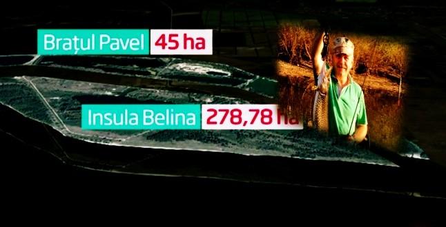 Insula Belina și Brațul Pavel se întorc înapoi la statul român, după ce TelDrum și Clanul Dragnea le-au folosit ILEGAL câțiva ani ca loc de pescuit și relaxare