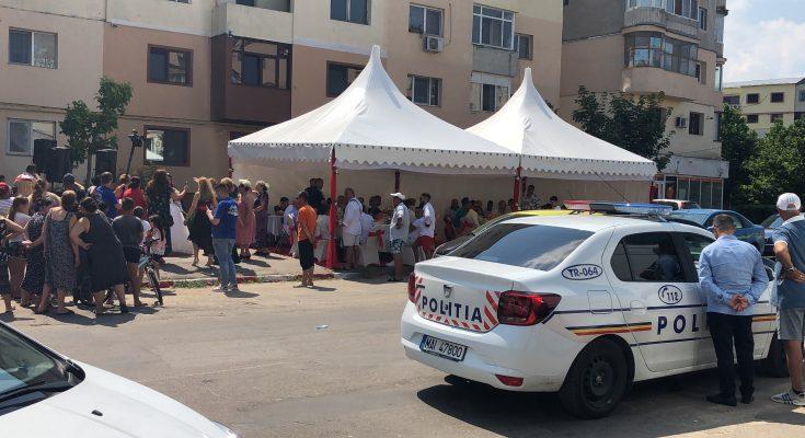 O nuntă țigănească a sfidat orașul lui Victor Dragusin, primarul Alexandriei