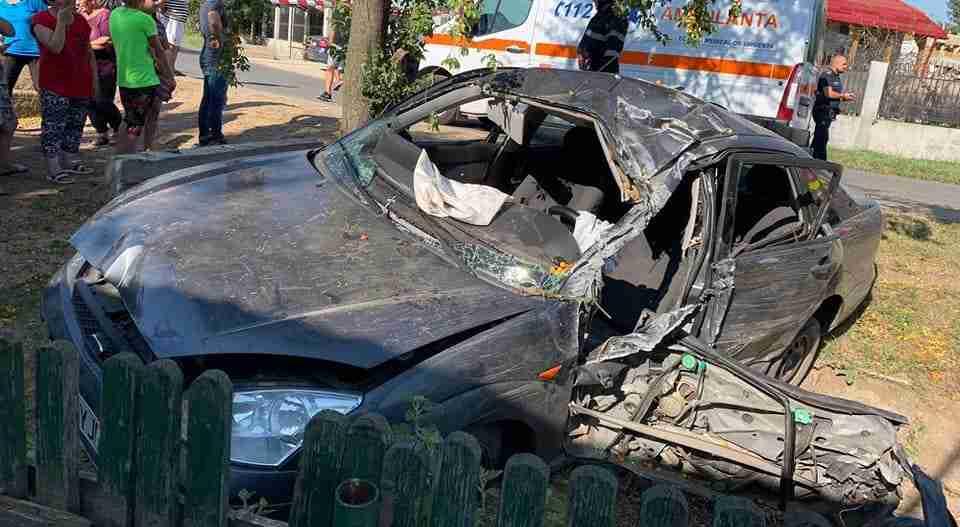 Accident mortal în localitatea Frăsinet